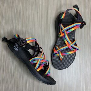 Chaco ZX/2 Classic Rainbow Pride Sport Sandals